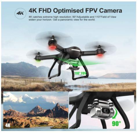 4k hd camera of hs700d