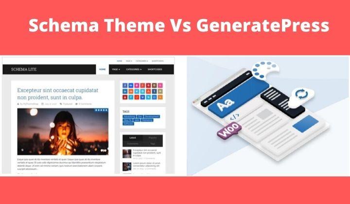 Schema Theme Vs GeneratePress