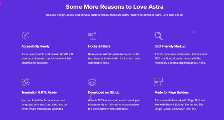 reasons for love Astra