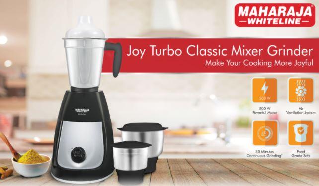 Maharaja Whiteline MX-218 Joy Turbo Classic 500W Mixer