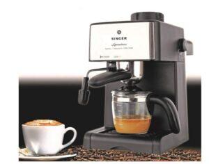 1.Singer Xpress Brew 800 Watts Coffee Maker Machine