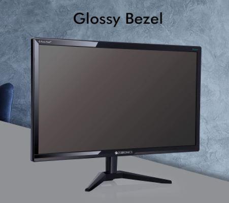 Zebronics 21.5 inch (54.6cm) LED Monitor: Low Budget Monitor