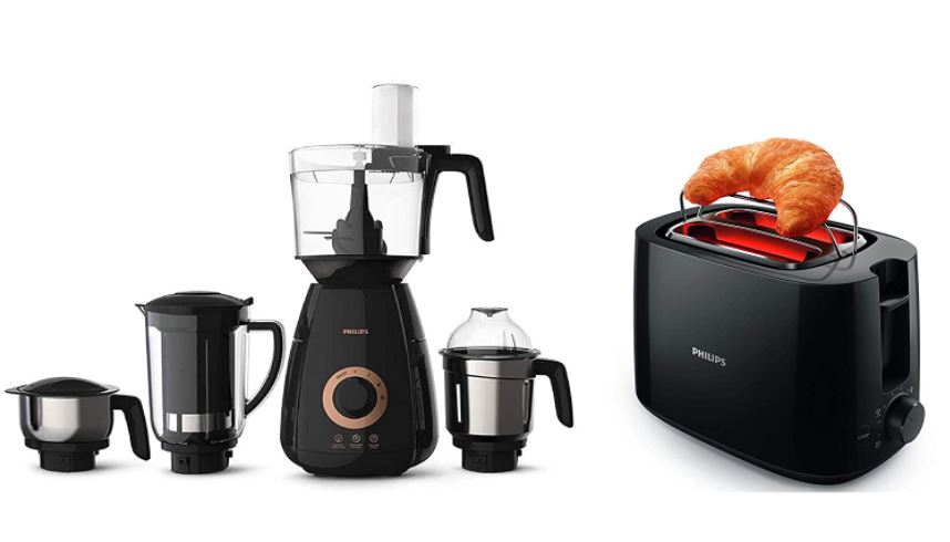 philips mixer grinder and toaster combo