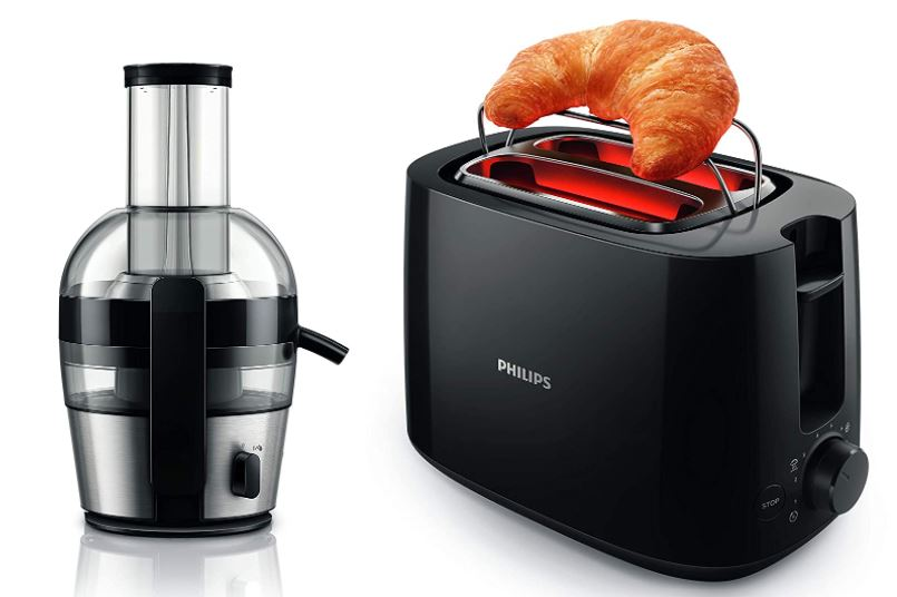 philips juicer and toaster combo