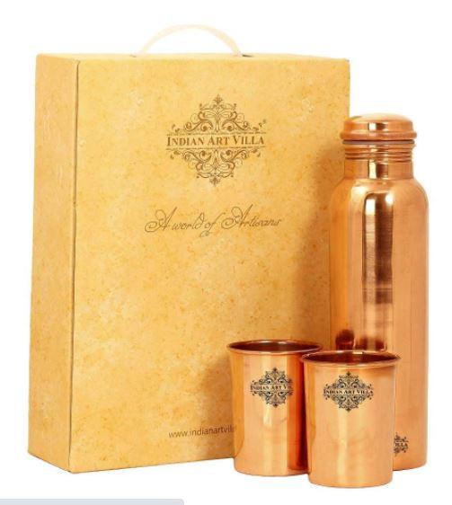 copper bottle diwali gift for friends