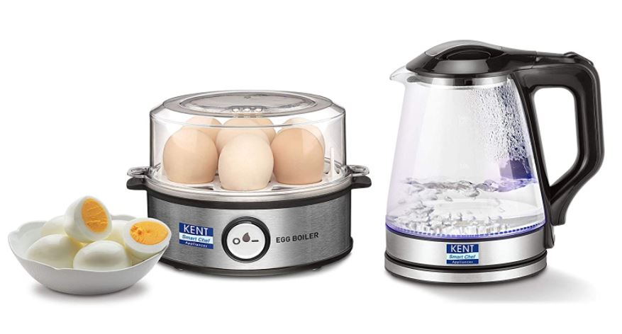 kent egg boiler and electric kettle combo