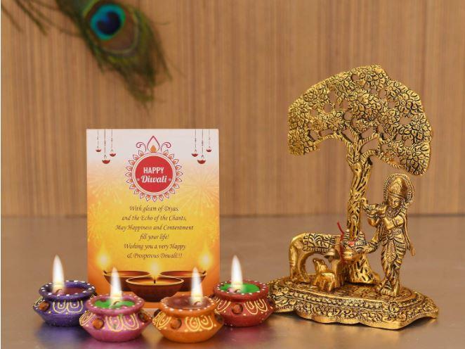 krishna idol murti diwali gift for friend