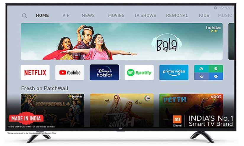 mi tv 4a pro led tv under 15000