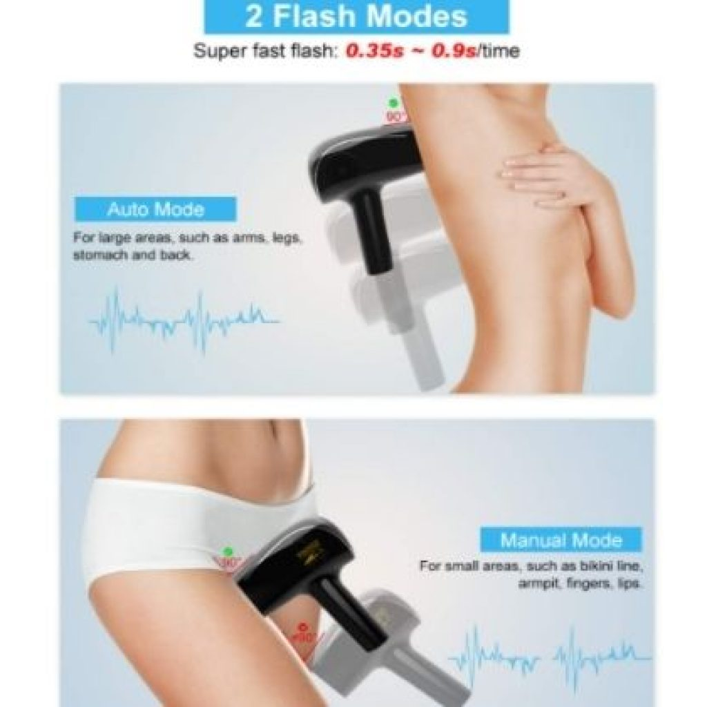 two mode of hair removal