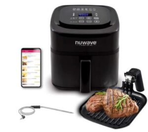 NuWave Brio 6-Quart Air Fryer: Best Affordable Air Fryer for Family of 5