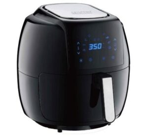 GoWISE USA 8-in-1 Digital Air Fryer with Recipe Book, 7.0-Qt, Black: Best Affordable Large Air Fryer