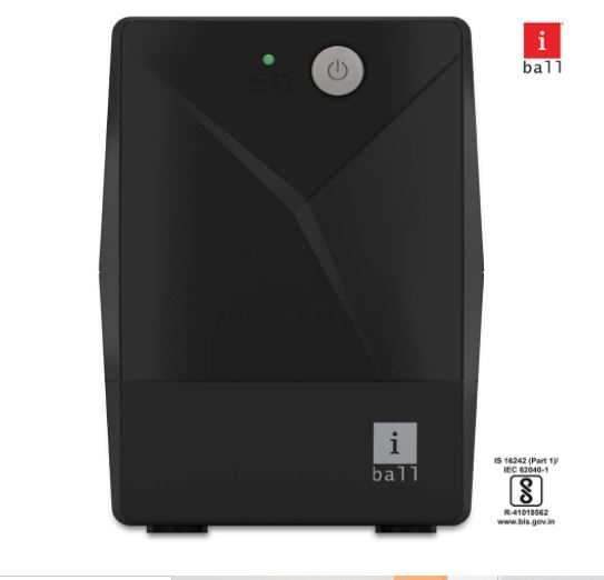 iball ups for pc