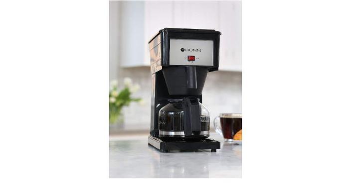 BUNN coffee maker for hard water