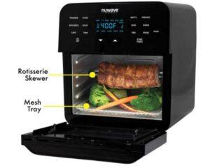 NuWave air fryer with rotisserie