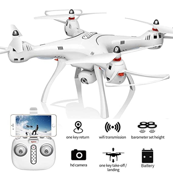 best drone for professional:Kiditos Syma X8Pro GPS Drone price in india