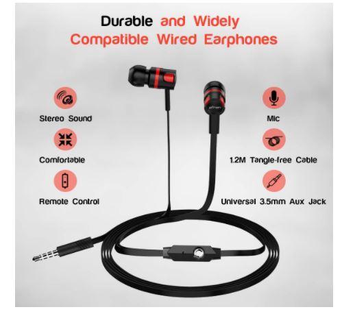 ptron raptor earphones under 200-300