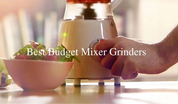 Best Budget Mixer Grinders in India