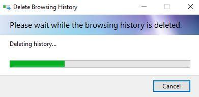step of deleting temp from gaming laptop through commond