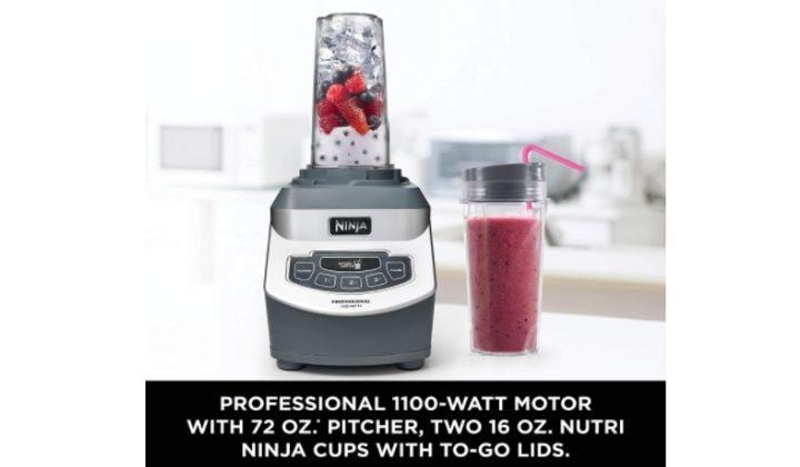 Ninja Professional Countertop Blender with 1100-Watt