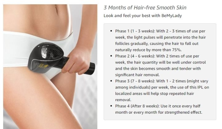 Phase of hair Removal