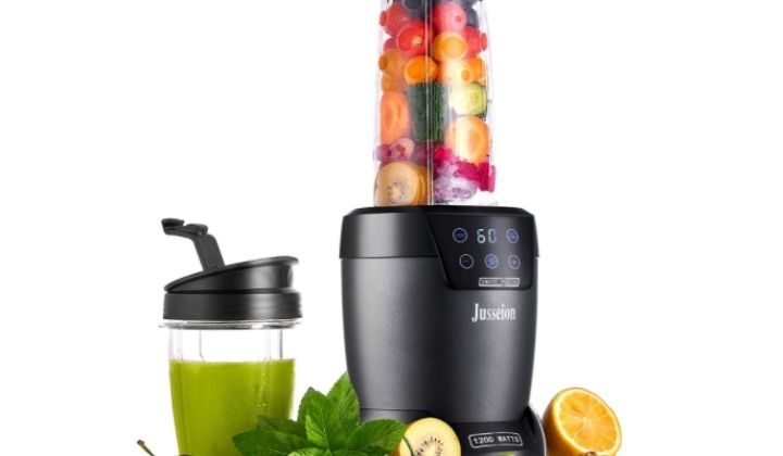 Smoothie Blender - 1200W Auto-Blend Bullet Blender for Shakes and Smoothies