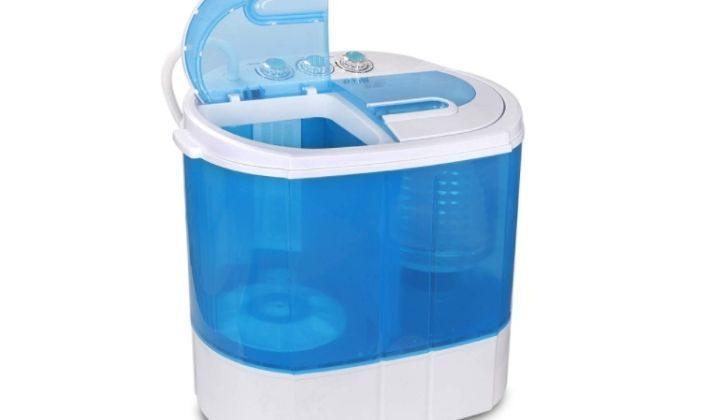 ZENY Portable Compact Washing Machine Mini Twin Tub Washer